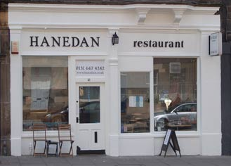 Hanedan Turkish restaurant edinburgh